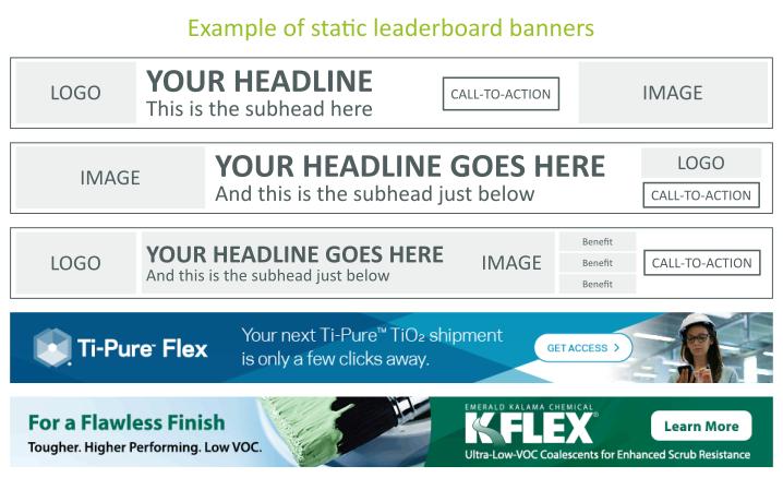 Leaderboard Banners