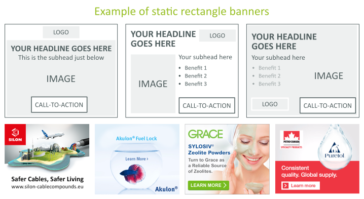 Rectangle Banners