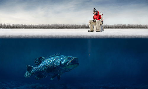 Hyper-pleasing that one big fish